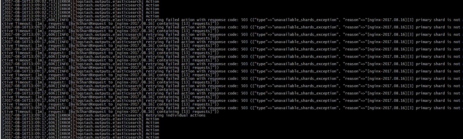 一次系统扩容引起的elasticsearch故障及恢复