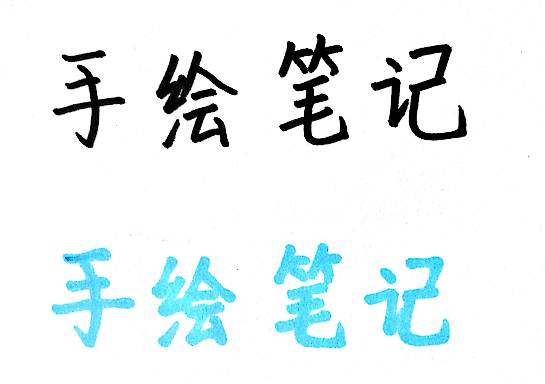 【手绘笔记系列】拆解练习五:亮眼标题和图框装饰