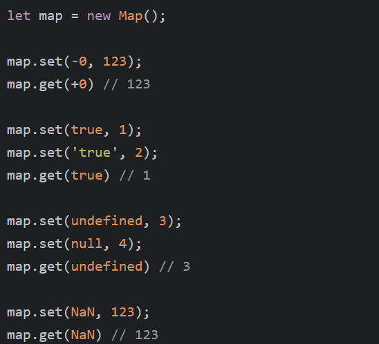 JavaScript面试考点之set、weakSet、map及weakMap 的详解