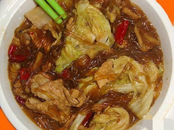 山东粉干子菜和四川酸辣粉的区别