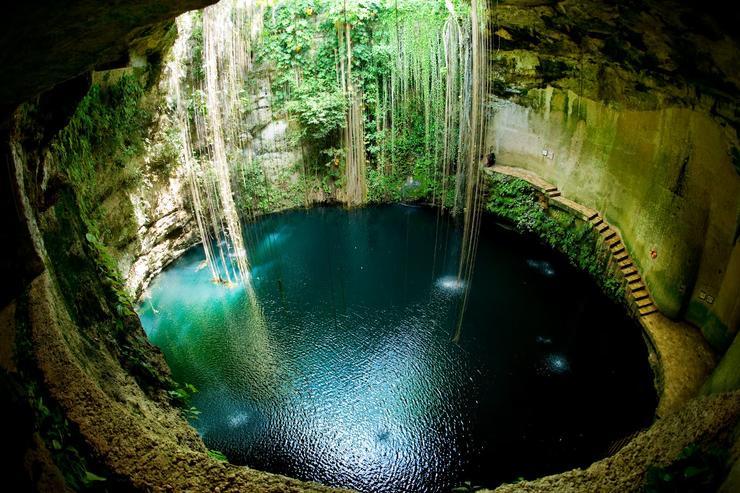 """探索玛雅文明奇琴伊察和他们的""""浴缸"""""""